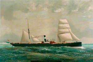 Steamship 'Robina' (2,500 tons, Captain R. H. Tindale)
