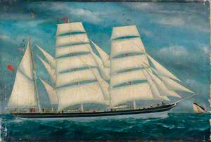 Sailing Ship 'Windrush'