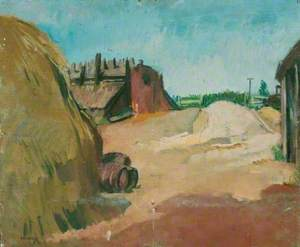 Rural Scene, Possibly Spain