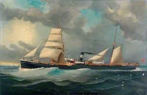 Steamship 'B. Grainger', Captain H. Tindale
