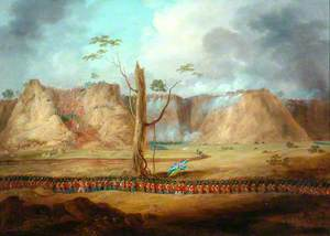 The Storming of Bhurtpore, 1826