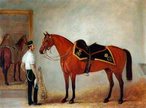 Lieutenant Colonel Arthur Bentinck, the 7th (Princess Royal's) Dragoon Guards
