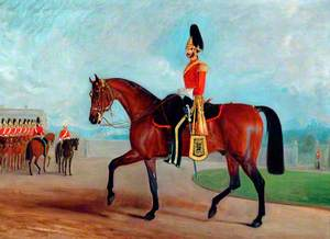 Lieutenant Colonel Arthur Bentinck, Commanding the 7th (Princess Royal's) Dragoon Guards (1854–1857)