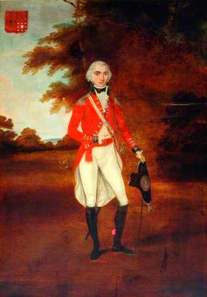 Cornet Tankerville Chamberlayne, the 4th Dragoon Guards