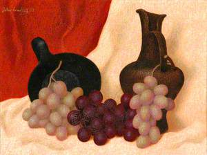Amphorae and Grapes (Libation)