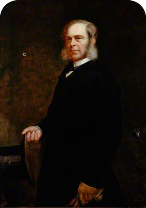 Portrait of a Man with a Top Hat