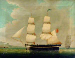 Ship Portrait: The Brig 'Imogene'
