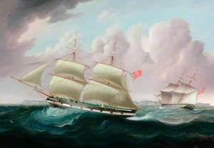 Ship Portrait: The Brig 'Herbert'
