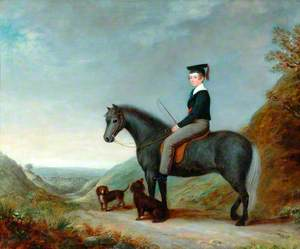 Robert Shelton on Horseback