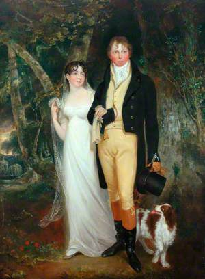 Captain and Mrs Edmund Burnham Pateshall