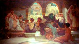 Moorish Scene with Women
