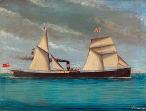 SS 'Edgar' off Venice
