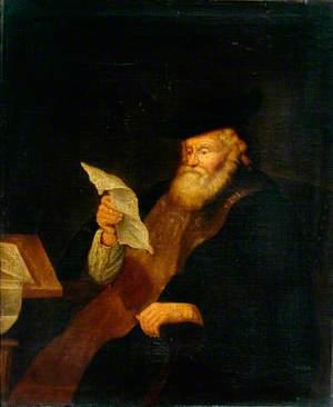 W. Chapman Reading a Letter