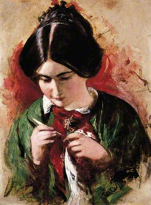The Crochet-Worker (Mary Ann Purdon)