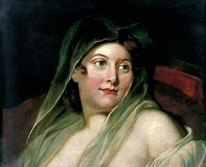Woman with a Head Veil
