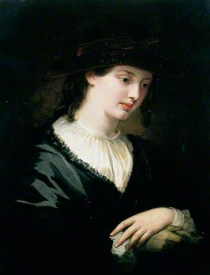 A Young Girl in a Hat