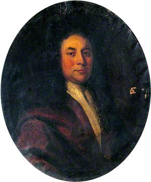 Portrait of an Unknown Man in a Brown Coat