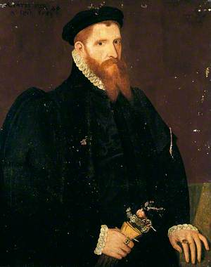 Portrait of an Unknown Man with a Red Beard, Aged 40