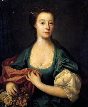 Mrs Elizabeth Thompson, née Croft of Stillington (d.1753)