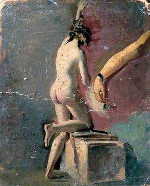 Study of an Arm and Female Nude