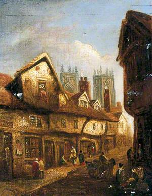 Petergate, York, from the West