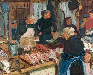 Fish Market, Dieppe