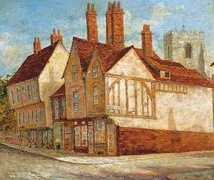 The Corner of Micklegate and Priory Street, York