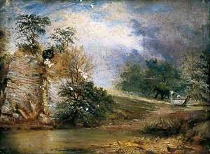 Landscape in Derbyshire