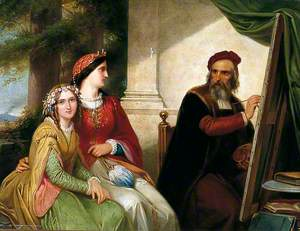 Ribera and His Family