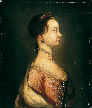Profile of Queen Charlotte (1744–1818)