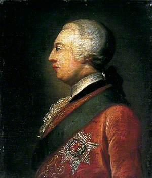 Profile of King George III (1738–1820)