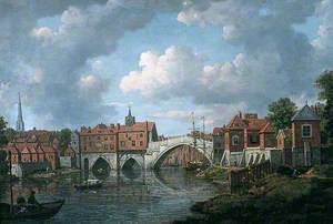 The Old Ouse Bridge, York