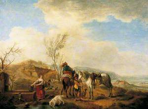 Horsemen at the Well
