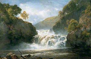 Falls in the River Clyde, Corry Lynn
