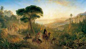 Scene in Algiers