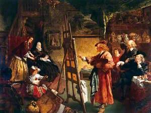 Rembrandt's Studio