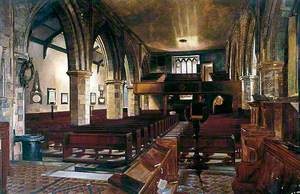 Interior, Holy Trinity Priory, York