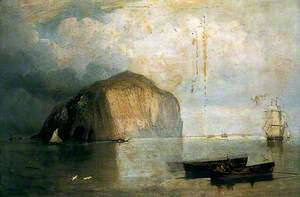The Bass Rock with Shipping