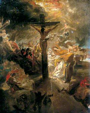 Sketch for a Crucifixion