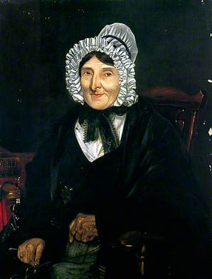 Jane Burton of Saltmarsh (d.c.1844), Aged 77