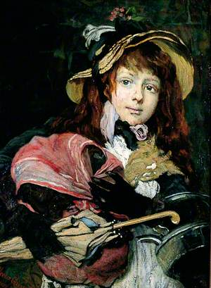 Girl with a Kettle