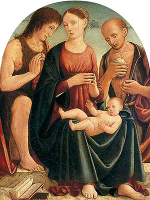 Madonna and Child with St John and St Jerome
