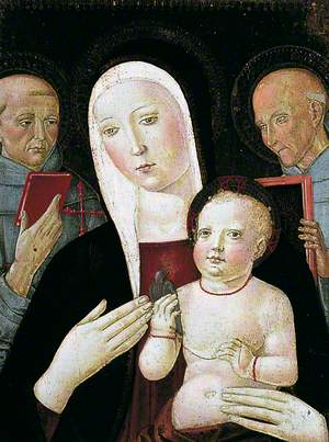 Madonna and Child with St Francis and St Bernardino of Siena