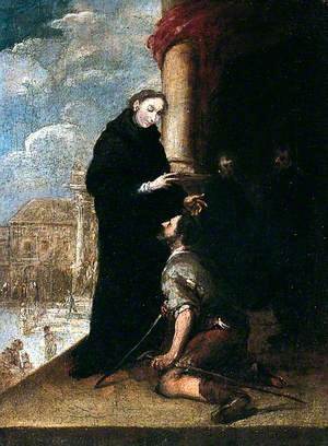 St Thomas of Villanueva Healing the Lame Man