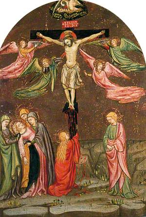 The Crucifixion with the Virgin, St John and Mary Magdalen