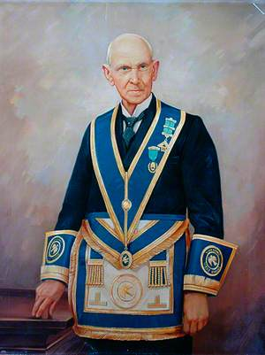 Mason Wearing Insignia, Yorkshire West Riding Lodge
