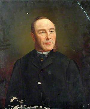 Portrait of an Unknown Man Wearing a Cravat