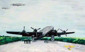 Halifax FAF 347 Squadron