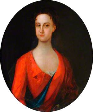 Portrait of an Unknown Lady in a Red Dress