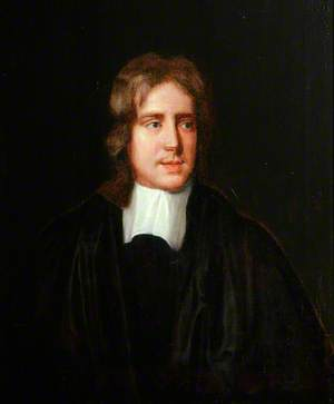 Portrait of an Unknown Gentleman in a Black Gown and White Cravat